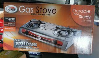 Kw3500 Gas stove 2 burner kyowa