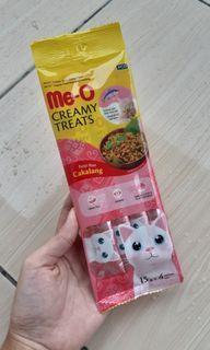 Makanan Kucing Me-O Creamy Treats Rasa Cakalang
