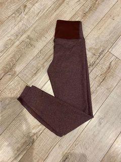 Nike Burgundy Dri-fit Leggings- S