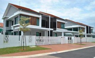 Only RM1000 Booking Fee Get New Double Double Storey House Free Hold