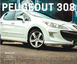 PEUGEOT 308 FULL LOAN MTH RM400