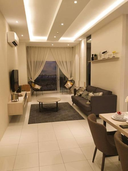Platinum Teratai partly furnished for rent