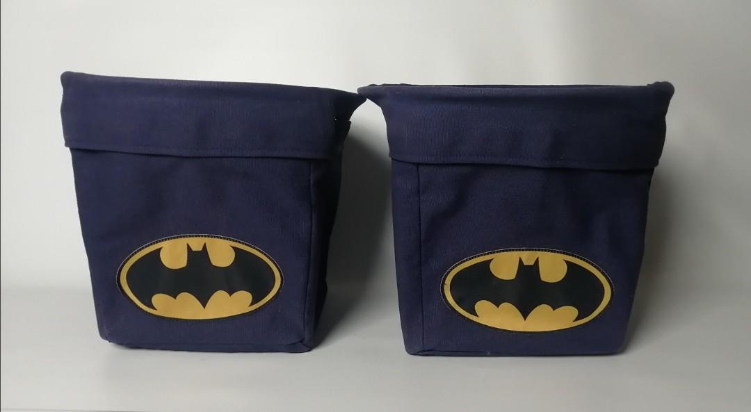 Pottery Barn Kids: Batman Storage Box Set