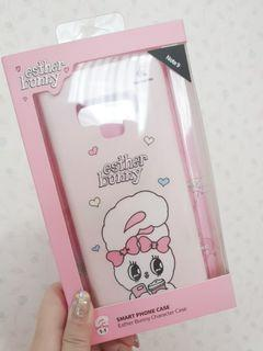 (Preloved) Galaxy Note 9 Case Esther Bunny (Pink Bunny)