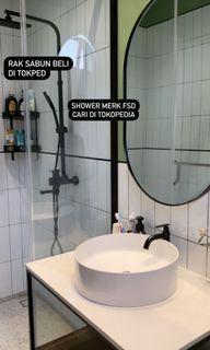 Shower Hitam FSD