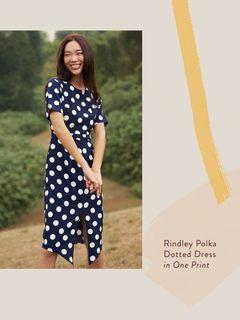 TCL RINDLEY POLKA DOTTED DRESS