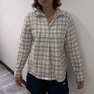 Uniqlo Checkered Pastel Shirt