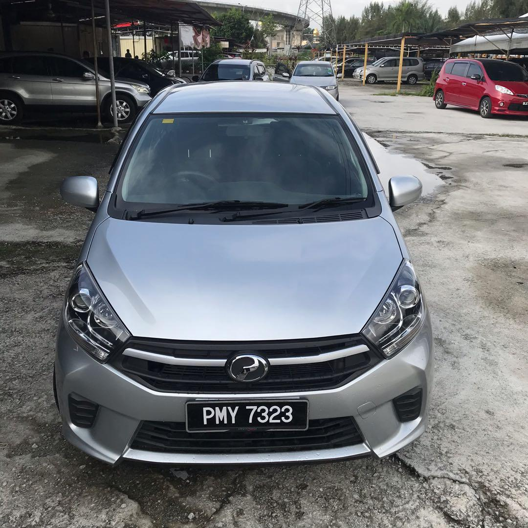 2017 Perodua Axia 1.0 G Auto Hatchback (TRUE YEAR MAKE)(TIP TOP ENGINE & BODY )(RAYA SALE PROMO BACK BC )