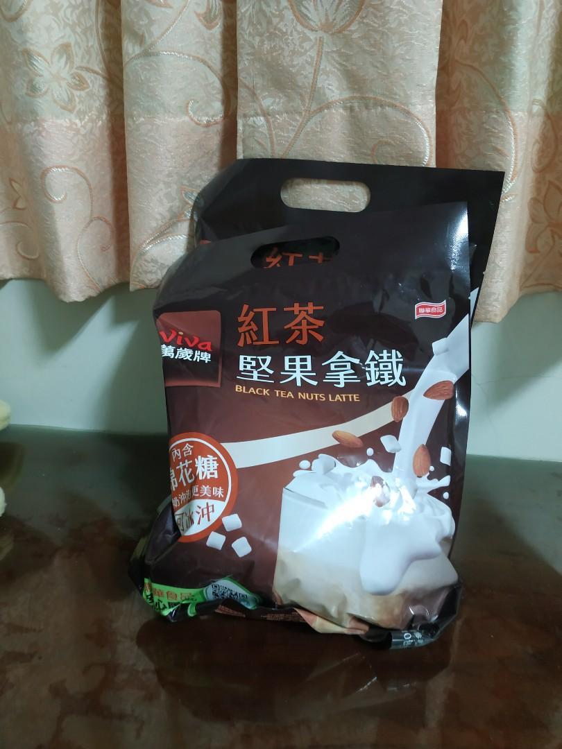 萬歲牌紅茶堅果拿鐵2包/拜拜供品