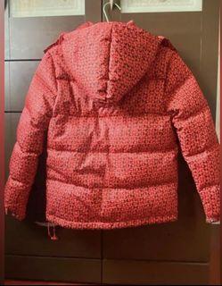 專櫃亮色系保暖羽絨外套