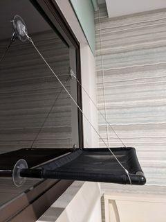 吸盤式編織耐重貓吊床