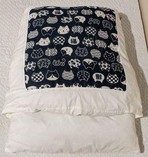 日式貓窩睡袋封閉式可拆洗