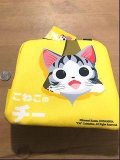 貓咪 黃色保冷袋 全新