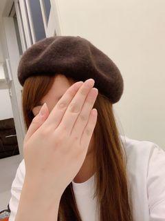 全新 貝蕾帽 畫家帽 可調節頭圍 咖啡色