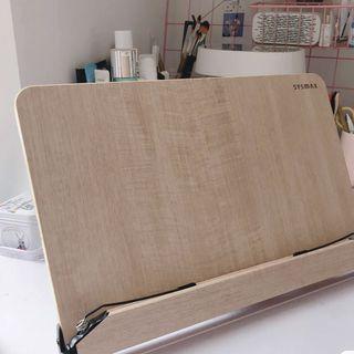 免運  🇰🇷 Sysmax 希思美13段可調式 高級木質多功能 書架 兒童 國考 閱讀架 看書架 平板架 食譜架
