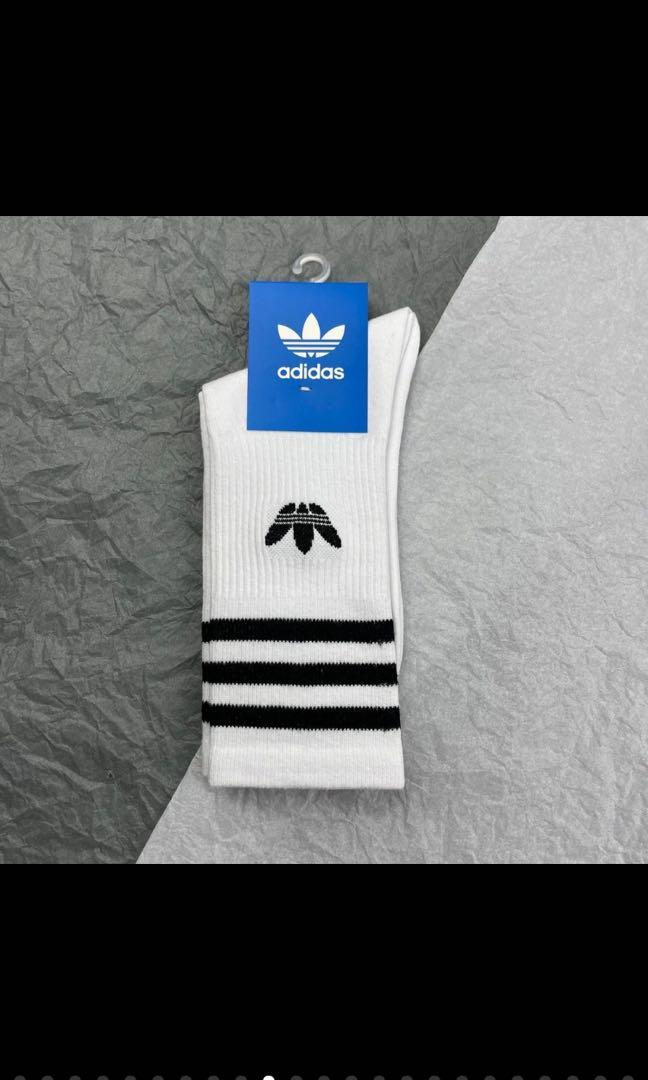 現貨adidas運動高筒長襪(買5送1,可與NIKE襪混搭優惠)
