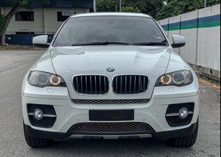 BMW X6 3.0 TWIN TURBO PETROL SAMBUNG