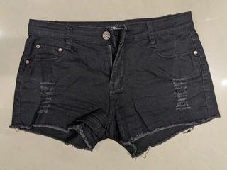 CACO短褲,黑/粉紅色,各1件,可拆賣
