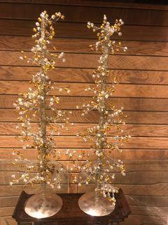 Crystal Tree (one pair)