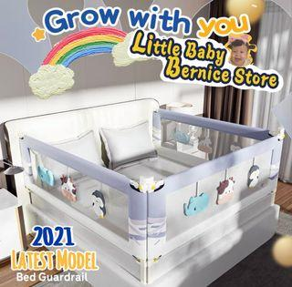 [FREE DELIVERY] Latest Model Baby Bed Fence Bed Rail
