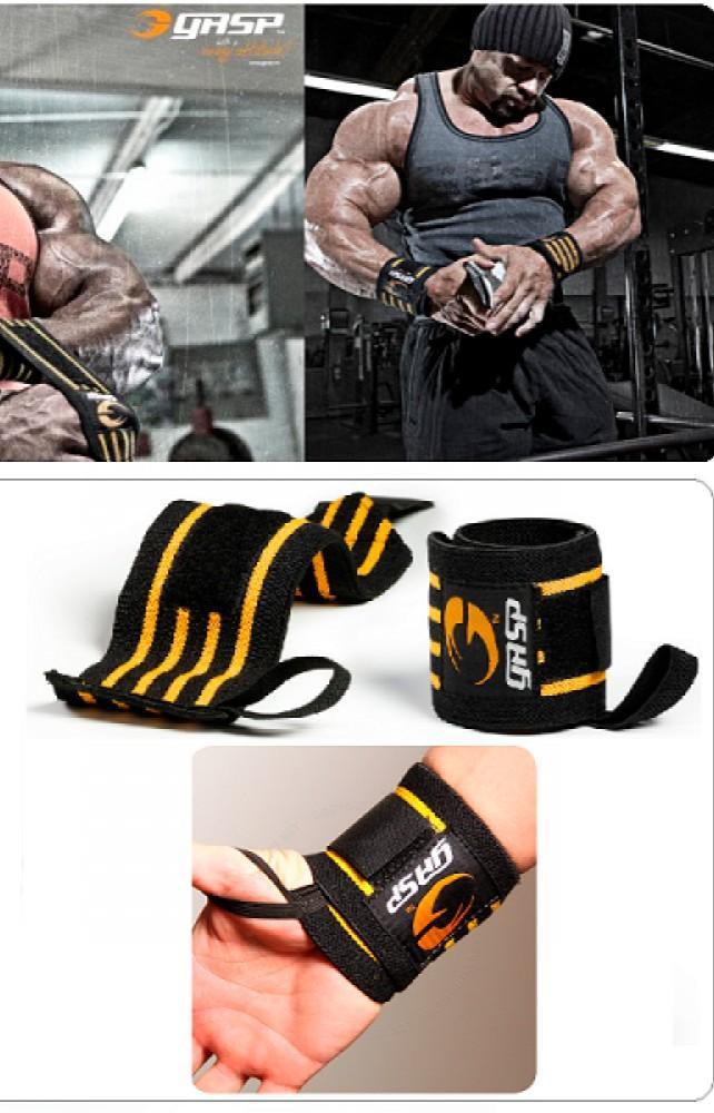 《現貨》GASP Hardcore  強力護腕 (健力、健美、舉重、重訓運動、健身、握推) 2入