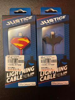 iPhone 充電線 (蝙蝠俠造型已售出)
