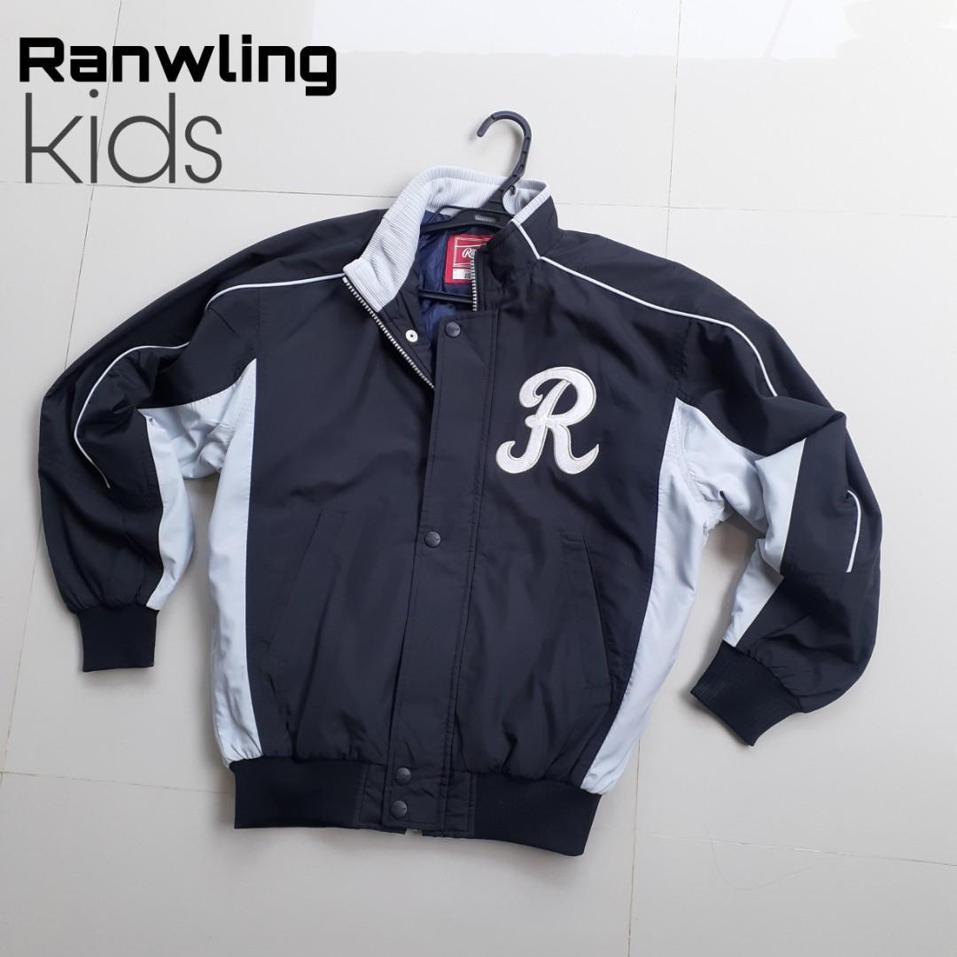 Jaket base ball anak tanggung Rawlings
