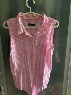 Kemeja pink Cotton On