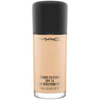 MAC Cosmetic Studio Fix Fluid SPF 15 Foundation Shade NC25