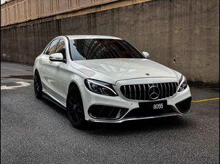 Mercedes c200 amg for rent