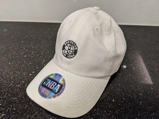 NBA鴨舌帽(白色)