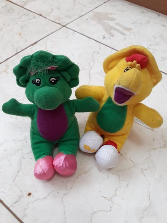 NEW!! BARNEY'S Baby Bop and BJ Keychain #THR2021