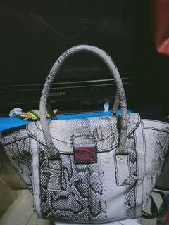 Price Nego !Preloved Fiorelli Snake Skin Bag