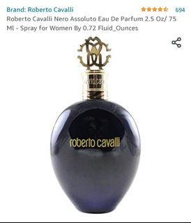 Roberto Cavalli Nero Assoluto Eau De Parfum 2.5 Oz/ 75 Ml - Spray for Women