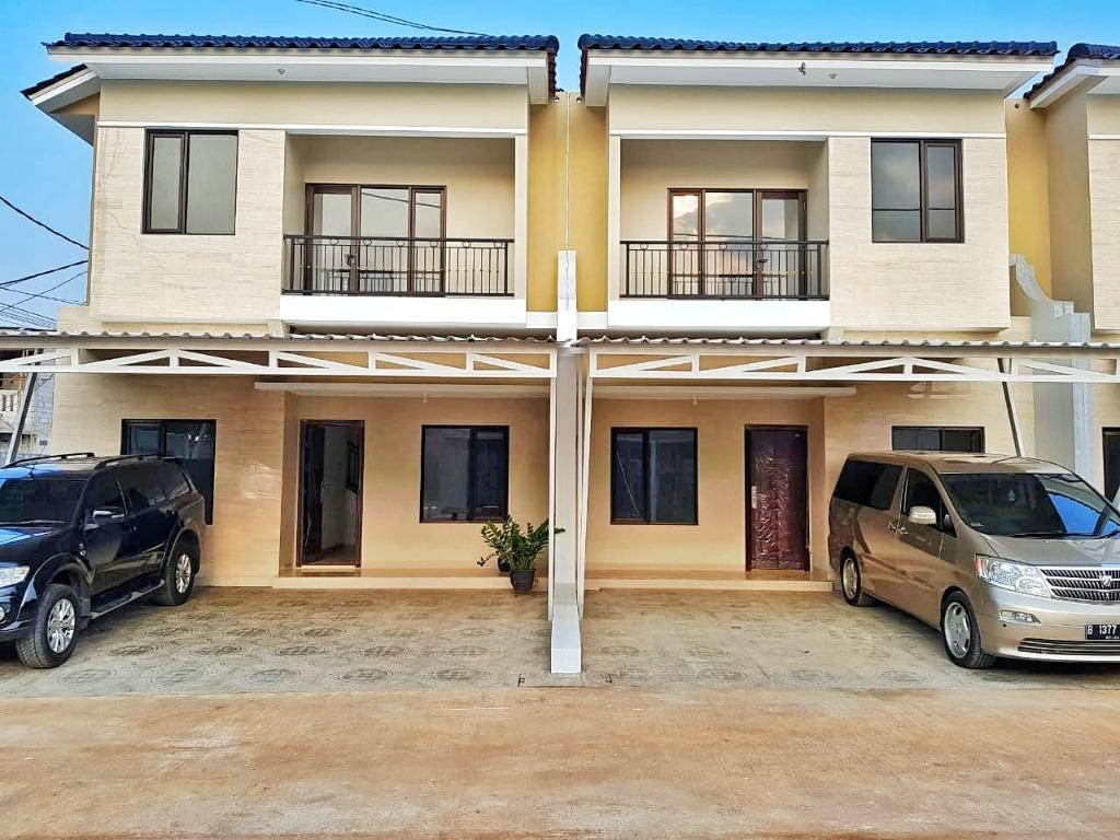 Rumah 2 Lantai di Jatiasih Bekasi Dekat Toll, Free Kanopi dan BPHTB