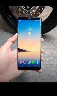 Samsung Note 8 Blue 6/64gb lancar