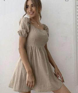 Shein Dress Flare Hem