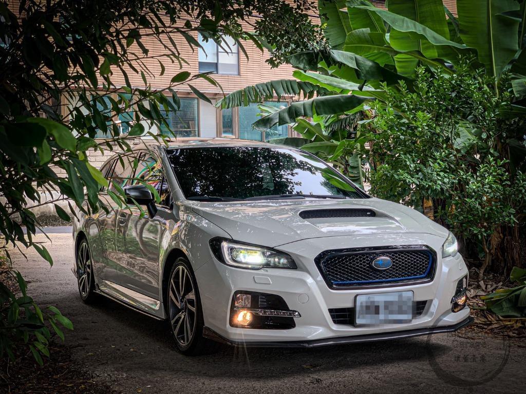 SUBARU\1516  Levorg GT-S 1.6 白 跑13.8萬 到店
