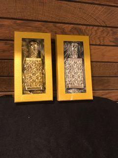 Vintage look perfume bottles