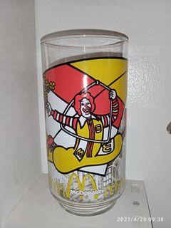 Vintage McDonald's drinking glass