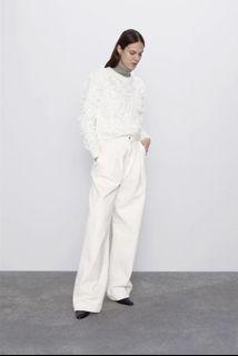 (全新品)Zara 凸紋效果毛衣