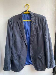 Zara navy blue blazer / coat