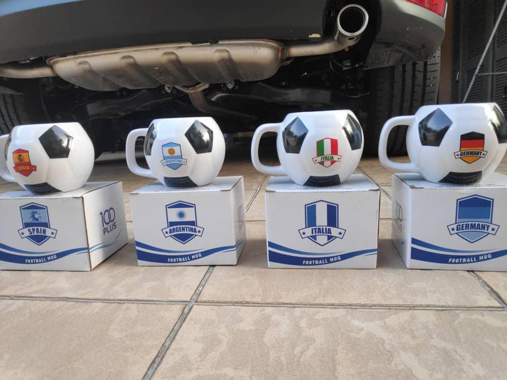 100 plus FIFA mugs