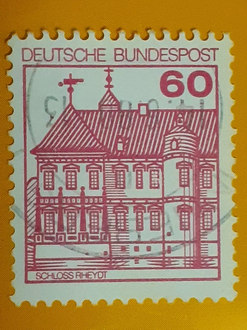 1980 Germany 60pf used stamp