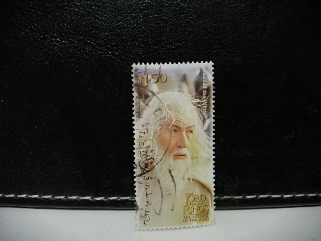 2003 New Zealand Stamp Lord of The Rings