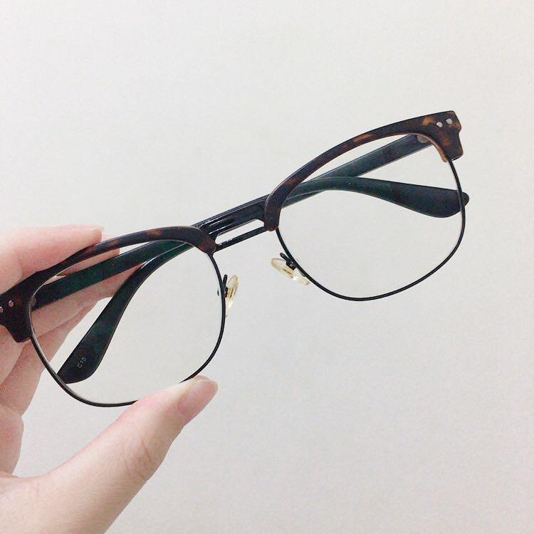 抗藍光眼鏡 無度數 原價3000多