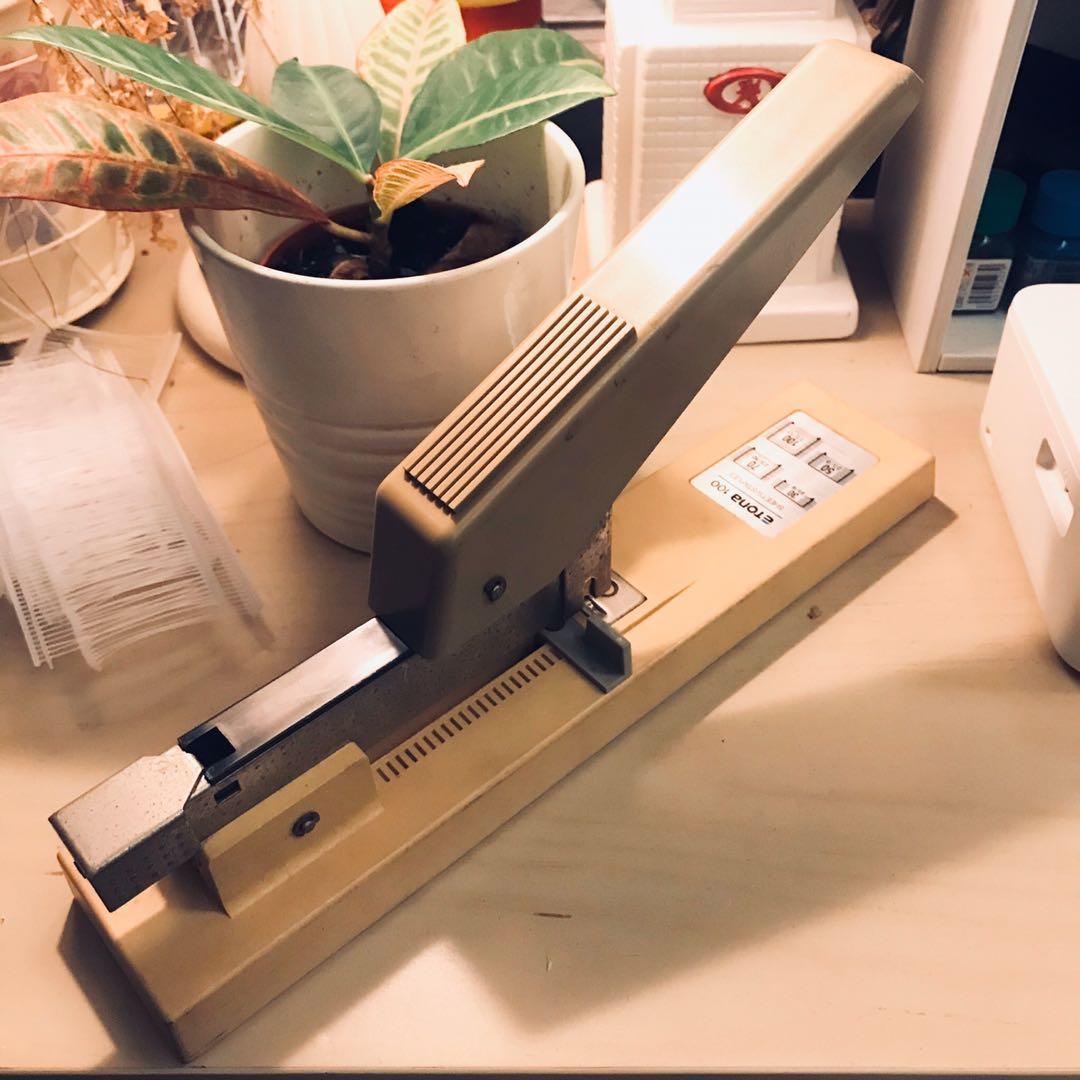 教科書釘書機  昭和年代物  日本製