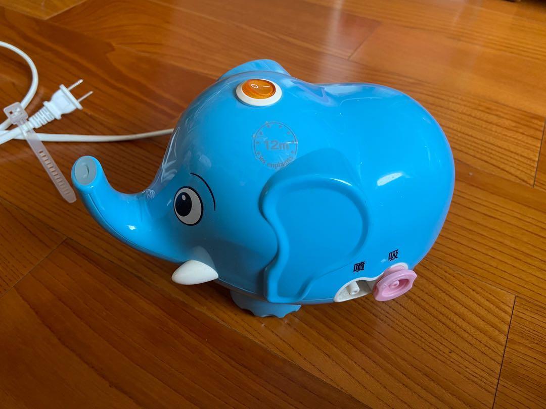 二手 大象吸鼻器 多恩 寶貝象 3in1 噴霧器+鼻腔清潔多功能