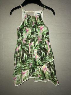 ❤️ OLD NAVY Tropical Summer Dress