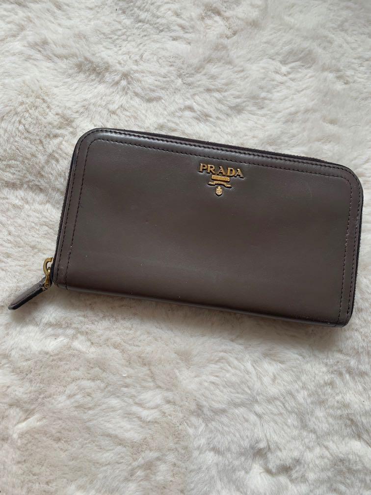 Authentic Prada wallet - excellent condition